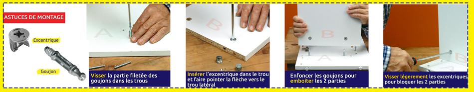 Conseil de montage de meubles en kit MOBKIT