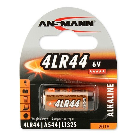 Pile spéciale 4LR44 ANSMANN