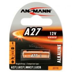 Pile spéciale A27 ANSMANN