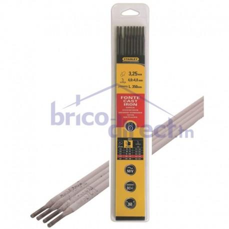 Pack 9 électrodes de soudure Rutile D3.25x350 STANLEY