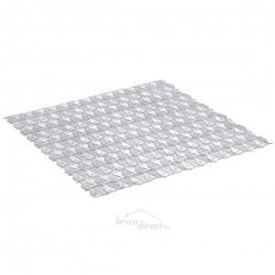 Tapis de bain 54x54 Blanc