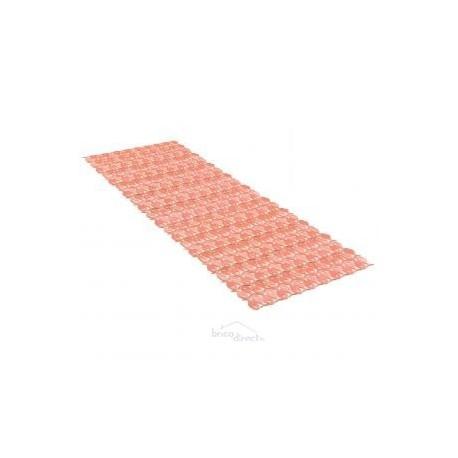 Tapis de bain 97x36 Saumon