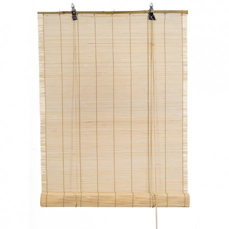 Store en bambou naturel 122x182 disponible en tunisie for Store bambou exterieur grande largeur