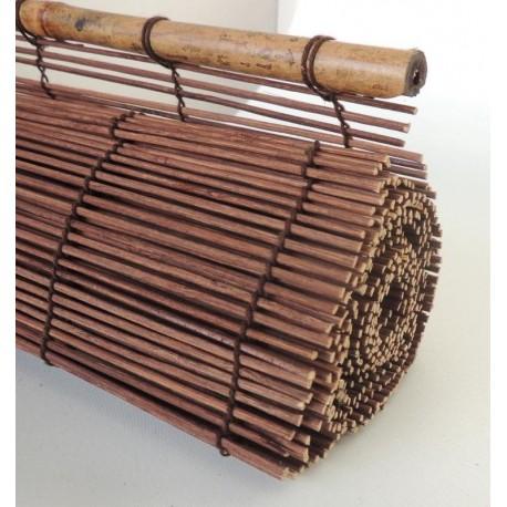store en bambou bruni 122x182. Black Bedroom Furniture Sets. Home Design Ideas
