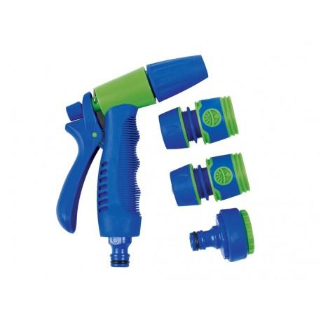 KIT Pistolet-Lance d'arrosage 4 pièces A96247