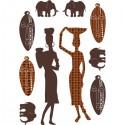 Sticker mural NAMIBIA XL