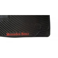 Jeu de Tapis originaux Mercedes ClasseE (Noir)