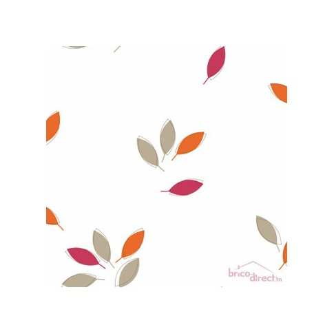 Papier peint PopUp Twist Fuschia/Orange 58624135 CASELIO