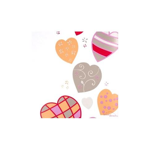 Papier peint Miss Zoé Tender Corail 57923252 CASELIO