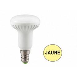 Ampoule réflecteur R50 LED 6W JAUNE E14