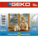 Bourrelets d'étanchéité en V pour portes et fenêtres GEKO