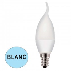 Ampoule flamme LED 5.5W BLANC E14