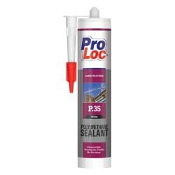 Mastic-Colle PU P35 Spécial construction Gris PROLOC