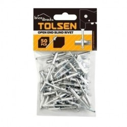 Boîte 50 rivets Aluminium 4.0x10 TOLSEN