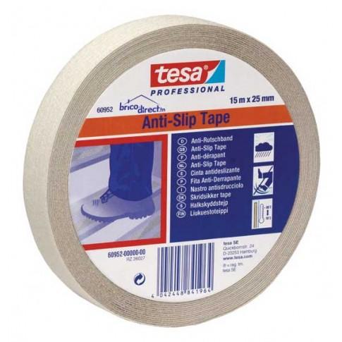 Adhésif Anti-dérapant transparent 25mm x 15M TESA