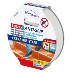 Adhésif Anti-dérapant transparent 25mm x 5M TESA