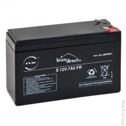 Batterie Plomb AGM S 12V-7Ah T1 NX