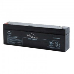 Batterie Plomb AGM 12V-2.3Ah T1 NX