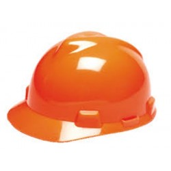Casque de chantier Orange 440 VAC