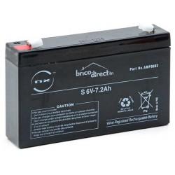Batterie Plomb AGM 6V-7,2Ah T1 NX