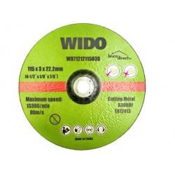 Disque de coupe acier 230mm WIDO
