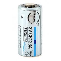 Pile spéciale au Lithium CR123A 3V NX