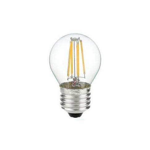 Ampoule led minisph rique filaments e27 4w jaune - Ampoule led jaune ...