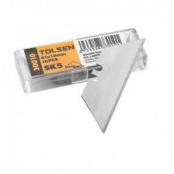 pack 10 lames trapèzoïdale pour cutter SK5 TOLSEN