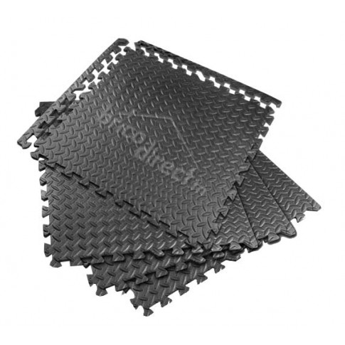 set de 4 tapis anti fatigue 600x600mm tolsen - Tapis Anti Fatigue