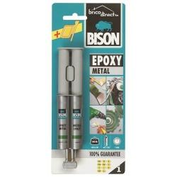 Colle Bi-composante Epoxy pour Métaux BISON