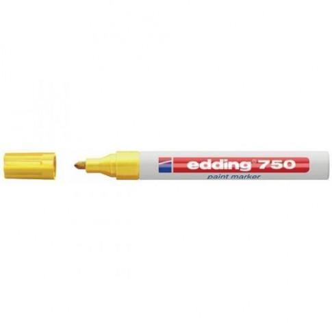 Marqueur permanent à peinture Blanc EDDING 750