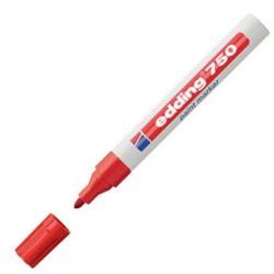 Marqueur permanent à peinture Rouge EDDING 750
