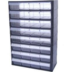 Rangement modulaire 32 tiroirs PP