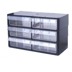 Rangement modulaire 6 tiroirs PL
