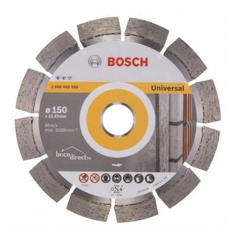 Disque diamant segmenté universel 150mm BOSCH