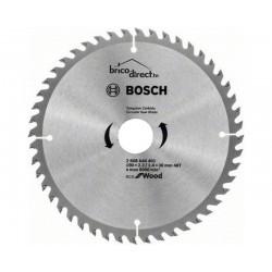 Disque bois 190mm 48T pour scie circulaire BOSCH