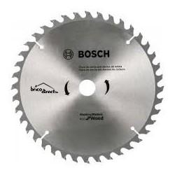 Disque bois 184mm 40T pour scie circulaire BOSCH