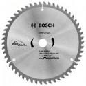 Disque Aluminium 184mm 60T pour scie circulaire BOSCH