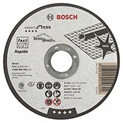 Disque de coupe pour Inox 125mm BOSCH