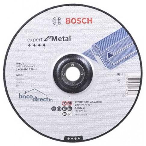 Disque de coupe pour métaux 230mm BOSCH