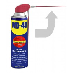 WD-40 Aérosol 500ml Multipositions