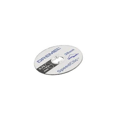 Pack de 5 disques à tronçonner pour Métaux DREMEL S456JC
