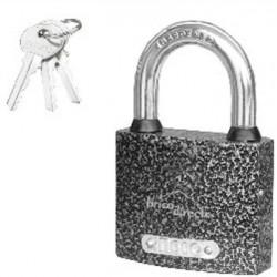 Cadenas 63mm 3 clés INGCO
