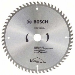 LAME CIRCUL 184x2.2/1.4x20 60T Eco Wood BOSCH
