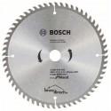 Disque bois 184mm 60T pour scie circulaire ECO BOSCH