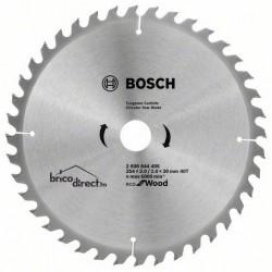 Disque bois 254mm 40T pour scie circulaire ECO BOSCH