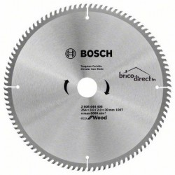 LAME CIRCUL 254x3.0/2.0x30 100T Eco Wood BOSCH