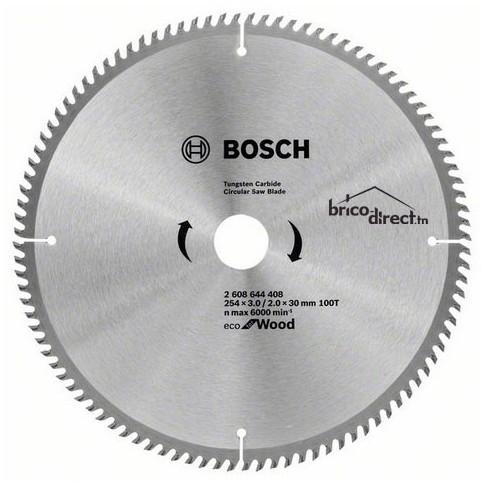 LAME CIRCUL 254x3.0/2.0x30 100T Eco Wood BOSCH
