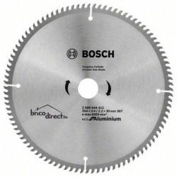 Disque Aluminium 254mm 96T pour scie circulaire BOSCH