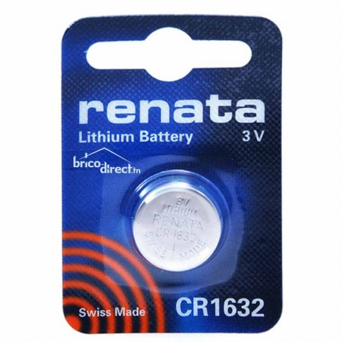 Pile plate CR1632 RENATA